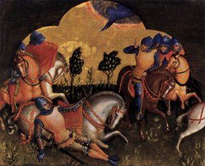 Lorenzo Veneziano: Pál megtérése (1370 körül)